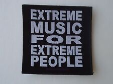 MORBID ANGEL EXTREME MUSIC FOR EXTREME PEOPLE WOVEN PATCH