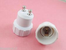 2pcs GU10 to E14 Base LED Halogen CFL Light Bulb Lamp Adapter Converter Holder