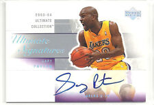 2003-2004 ULTIMATE COLLECTION GARY PAYTON ULTIMATE SIGNATURES AUTO ON CARD SP