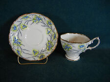 Royal Albert Heather Bell Crown Mark Cup and Saucer Set