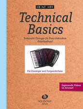 Technical Basics, für Piano-Akkordeon (Standardbass) von Heinz Hox (Noten) NEU