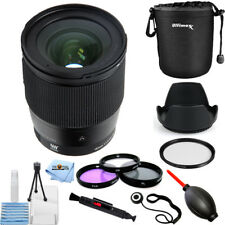 Sigma 16mm f/1.4 DC DN Contemporary Lens for Sony E #402965 PRO BUNDLE NEW