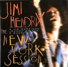 JIMI HENDRIX The New York Session feat J.Morrison/J.Winter/B.Miles (NYC 1968) CD