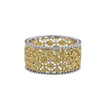 Buccellati Prestigio Two Color Gold Band Ring