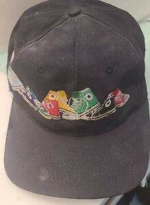 SNAP BACK TRUCKER HAT MULTI COLOR CHUCK TAYLOR ALL STAR HI-TOPS 1980'S GLAM