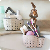 Hanging Bags Thicken Soap  Drain Rack Sink Holder Kitchen Sucker Storage Basket