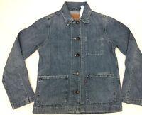Levi's Women's Denim Jean Jacket Button Front Light Wash Blue Small