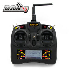 Detrum Gavin-6C 2.4G 6CH 2.4GHz 6-Channel RC Airplane TX Tx Transmitter DTM-T004
