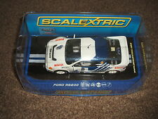Scalextric C3156 Ford RS 200 No 8 Kalle Grendel 1986 Rally of Sweden