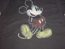 Medium Youth 7/8 Mickey Mouse Black Disney Parks Tee Shirt NWT