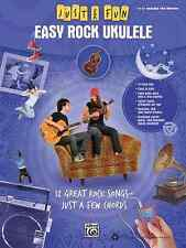 """JUST FOR FUN """"EASY ROCK UKULELE""""-EASY UKE TAB EDITION ALFRED BRAND NEW ON SALE!!"""