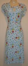 NEW LINDY BOP 50'S STYLE JULIET PENCIL WIGGLE DRESS (SLIGHT PRINT FAULT) SIZE 10