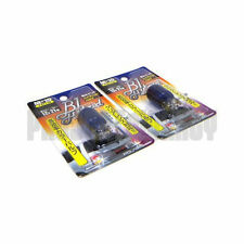 Polarg M15 Bl Hybrid 7440 Blue Light Bulbs Lightbulbs Pair M-15 JDM