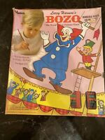 RARE SEALED BOZO THE CLOWN NUMBERED PENCIL COLORING SET BY HASBRO