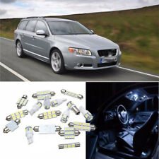 17pcs/Set White Car Interior LED Light Lamp Bulb Kit For Volvo V70 XC70 02-07