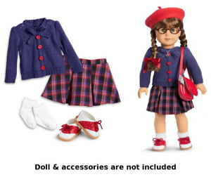 American Girl Molly Doll Meet Outfit Skirt ONLY Pleasant Company PC