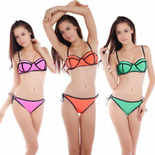 Push-Up Damen-Bikini-Sets aus Polyester