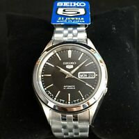 SEIKO 5 SNKL23 SNKL23J1 21 Jewels Automatic Japan Made 30m WR Box & Warranty !