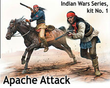 MASTERBOX 35188 Indian war set 1 Apache scala 1/35