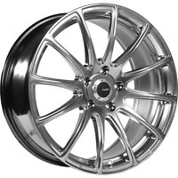 19x9.5 Silver Wheel Advanti Racing Svelto 5x120 45