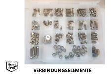 """UNC Zollschrauben Set 300tlg Linsenkopf A2 1/4"""" -5/16"""" -3/8"""" versandkostenfrei"""
