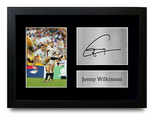 More details for jonny wilkinson signed printed autograph a4 photo wall art gift for a rugby fan