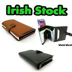 RFID Men's Wallet Minimalist Accessories Notes Cards Protection Purse Documents