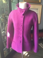 Chanel Gorgeous Orchid Color Wool Jacket  38 Pristine