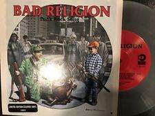 "Bad Religion – Punk Rock Song 7"" Single 1996 Atlantic – 7-87079 Gray Marbled"