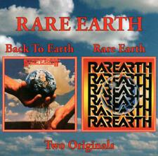 Rare Earth - Back To Earth & Rare Earth ( 2 Original Albums on 1 AUDIO CD )
