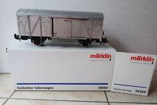 Märklin Spur 1 58266 Gedeckter Güterwagen DB + Schlußlicht (DI/09-55S4)