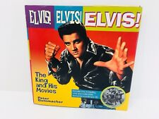 Elvis Elvis Elvis The King and His Movies Hardcover Book with CD