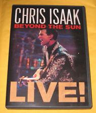 CHRIS ISAAK BEYOND THE SUN ~ LIVE, 2012 DVD, RARE PBS CONCERT in Austin Texas