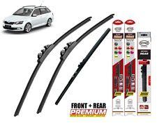 """Skoda Fabia Estate 2006-2014 full set  windscreen wiper blades 21""""21""""16"""""""