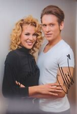 CHANELLE und ALEX 1 DSDS Grease Foto 20x30 orignal signiert IN PERSON Autogramm