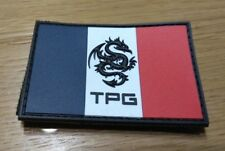 TPG Tactical Pro Gear PVC Patch French Flag