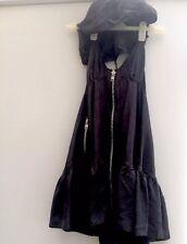 All Saints Silk Laurette Hooded Dress Size 10 Excellent Condition