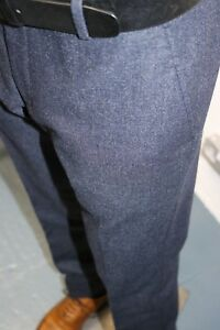 Tailored Trousers by Selected Homme  in Air Force Blue