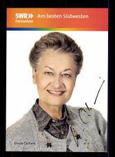 Ursula Cantieni die Fallers Autogrammkarte Original Signiert # BC 65383