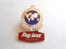 Vintage 1990 Pay Less Drug Stores Seattle Good Will Games Souvenir Pin