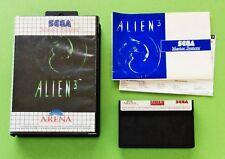 Aliens 3 Sega Master System