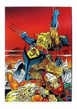 Comic Images 1992 Wolverine From Then 'Til Now II Base Card #84 Rip and Tear