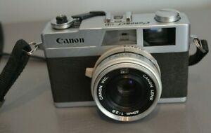 Appareil Photo Argentique Canon Canonet 28 Made in Taiwan