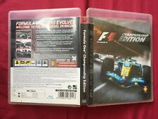 PS3 F1 Formula One Championship Edition 2006 PLAYSTATION game FREE POSTAGE