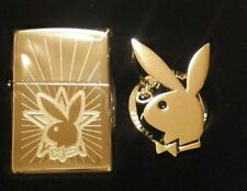 Zippo Play Boy with Key Chain Ring Lighter Collectible Very Rare!!