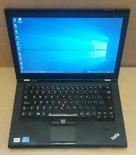 i7 T430s, Intel 240 SSD, BACKLIT UK kbd, 8Gb, 1600x900, webcam, FPR, WWAN, BlueT