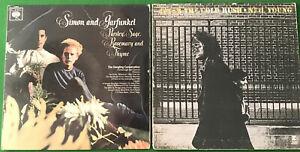 "Job Lot LP's 12"" Vinyl - Mixed Genre Folk Rock Pop Etc Vinyl Record Collection"