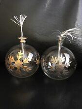 Art Glass Oil Lamp Candle Ball Ornament Egypt (2)
