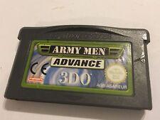 Nintendo GAME BOY GAMEBOY ADVANCE GBA SP + Micro Gioco ARMY MEN anticipo