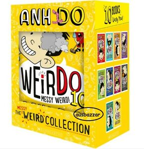 WeirDo Really Weird Collection 10 Books Gift Boxed Set by Anh Do FREE POST 2020